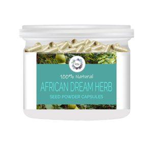 African Dream Herb (Entada rheedii) Seed Powder Capsules