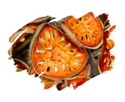 Bael Fruit (Aegle marmelos) Matoom Tea Dried Fruit Slices