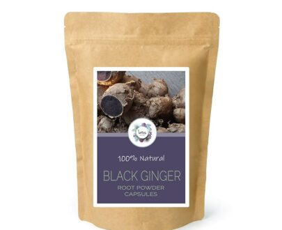 Black Ginger (Kaempferia parviflora) Root Powder Capsules