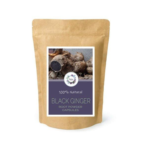 Black Ginger (Kaempferia parviflora) Root Powder Capsules