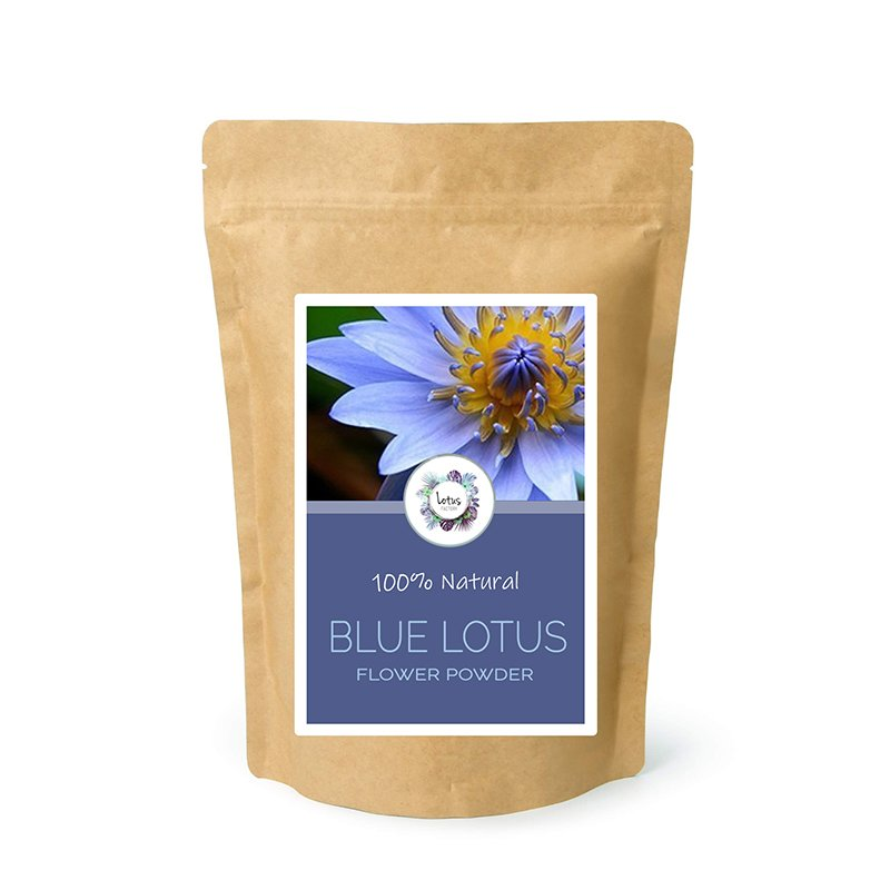 Blue Lotus (Nymphaea caerulea) Flower Powder