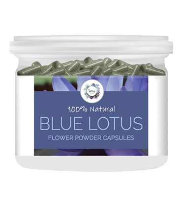 Blue Lotus (Nymphaea caerulea) Flower Powder Capsules