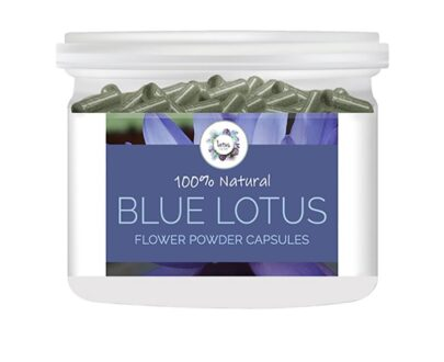 Blue Lotus (Nymphaea caerulea) Flower Powder Capsules