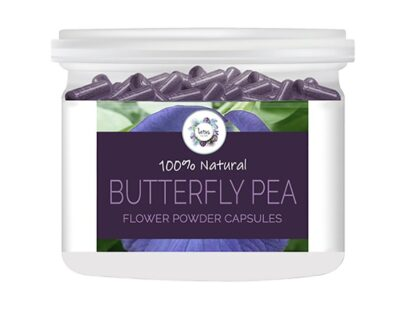 Butterfly Pea (Clitoria ternatea) Flower Powder Capsules