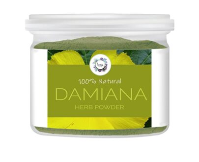 Damiana (Turnera diffusa) Herb Powder