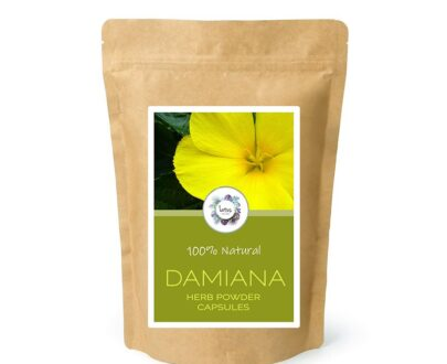Damiana (Turnera diffusa) Herb Powder Capsules