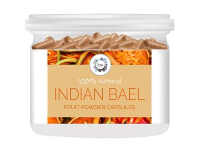 Indian Bael (Aegle marmelos) Fruit Powder Capsules