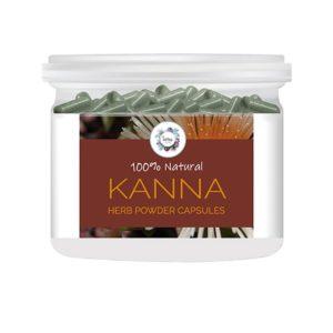 Kanna (Sceletium tortuosum) Herb Powder Capsules