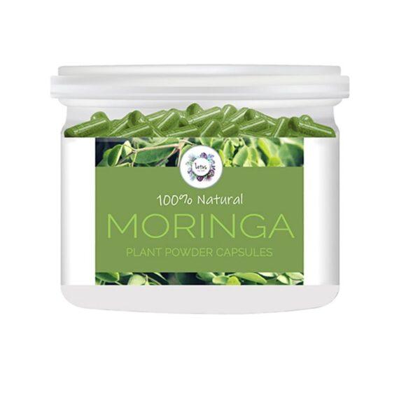 Moringa (Moringa Oleifera) Plant Powder Capsules