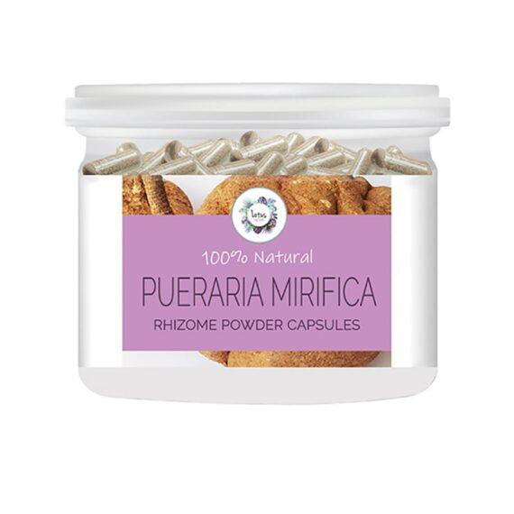 Pueraria mirifica (White Kwao Krua) Rhizome Powder Capsules
