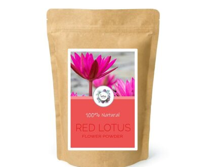 Red Lotus (Nymphaea rubra) Flower Powder