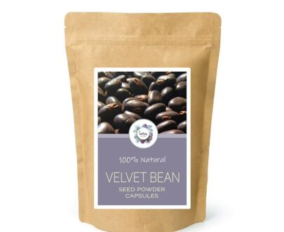 Velvet Bean (Mucuna pruriens) Seed Powder Capsules