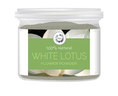 White Lotus (Nelumbo nucifera) Flower Powder