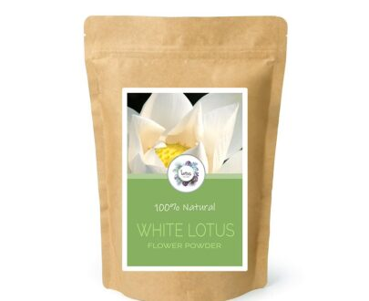 White Lotus (Nelumbo nucifera) Flower Powder