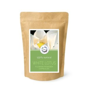 White Lotus (Nelumbo nucifera) Flower Powder Capsules