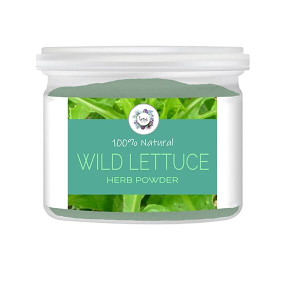 Wild Lettuce (Lactuca virosa) Herb Powder