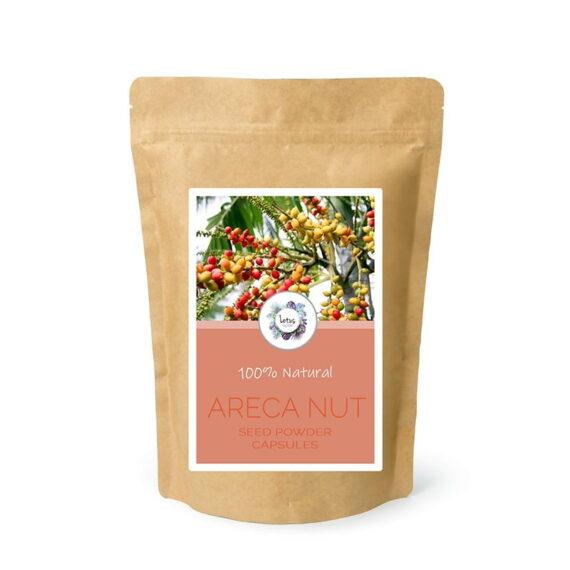 Areca Nut (Areca catechu) Seed Powder Capsules