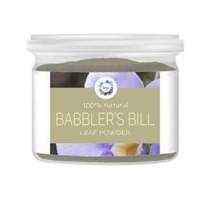 Babbler's Bill (Thunbergia laurifolia) Leaf Powder