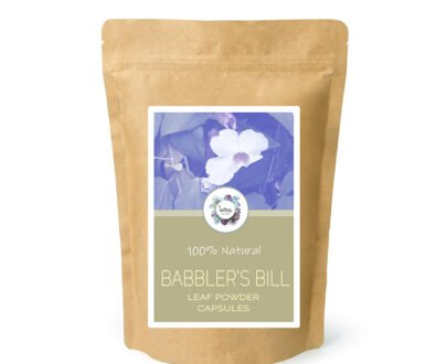 Babbler's Bill (Thunbergia laurifolia) Leaf Powder Capsules