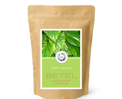 Betel (Piper betel) Leaf Powder Capsules