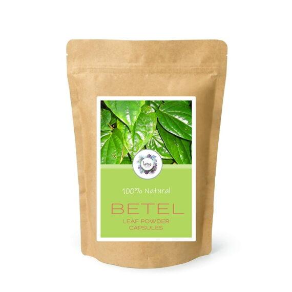 Betel (Piper betel) Leaf Powder Capsules