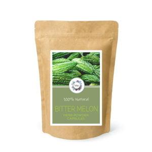 Bitter Melon (Momordica charantia) Herb Powder Capsules