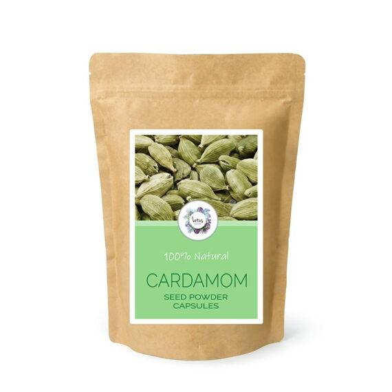Cardamom (Elettaria cardamomum) Seed Powder Capsules