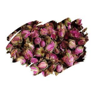 Damask Rose (Rosa damascena) Dried buds