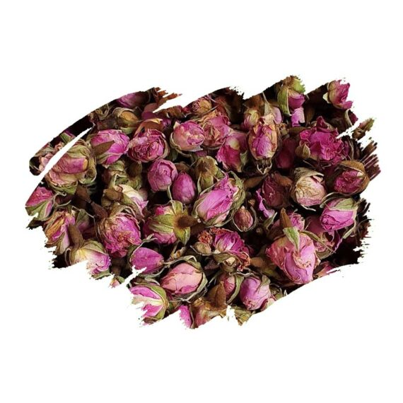 Damask Rose (Rosa damascena) Dried buds