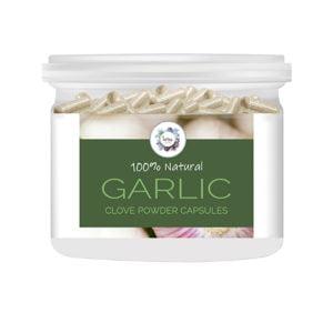 Garlic (Allium sativum) Clove Powder Capsules