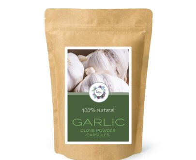 Garlic (Allium sativum) Clove Powder Capsules