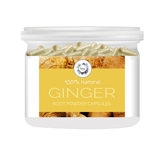 Ginger (Zingiber officinale) Root Powder Capsules