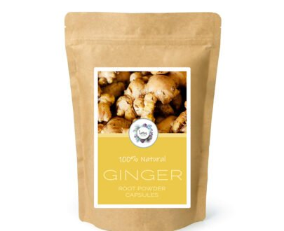 Ginger (Zingiber officinale) Root Powder Capsules