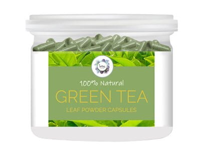 Green Tea (Camellia sinensis) Powder Capsules