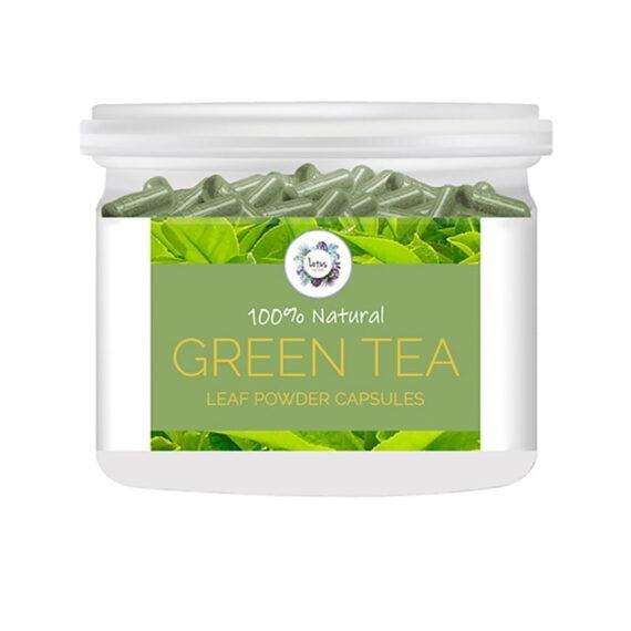 Green Tea (Camellia sinensis) Powder Capsules