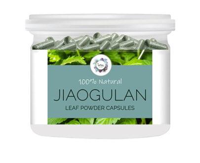 Jiaogulan (Gynostemma pentaphyllum) Leaf Powder Capsules