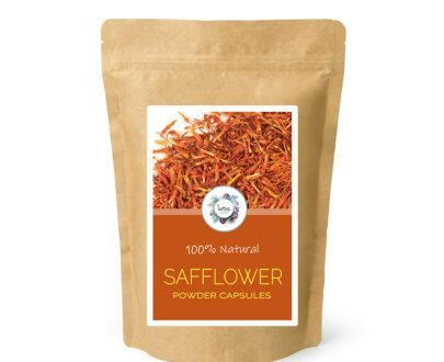 Safflower (Carthamus tinctorius) Powder Capsules