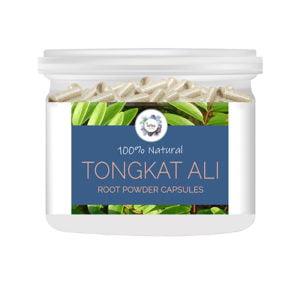 Tongkat Ali (Eurycoma longifolia) Root Powder Capsules