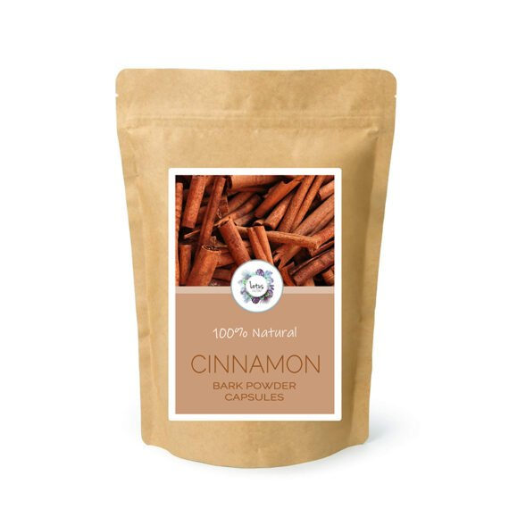 Cinnamon (cinnamomum cassia) Bark Powder Capsules