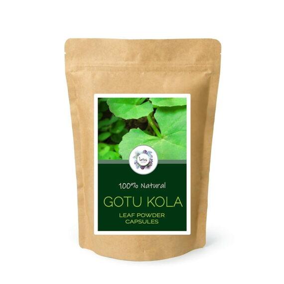 Gotu Kola (Centella asiatica) Herb Powder Capsules