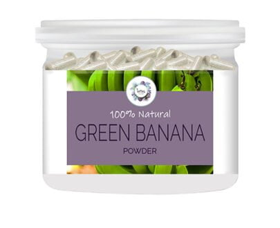 Green Banana Powder Capsules