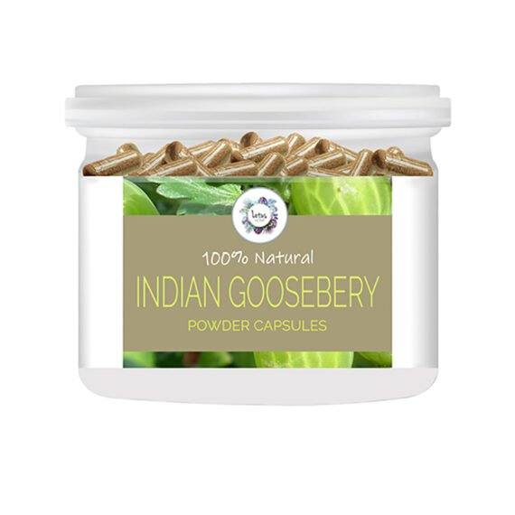 Indian Gooseberry (Phyllanthus emblica) Powder Capsules