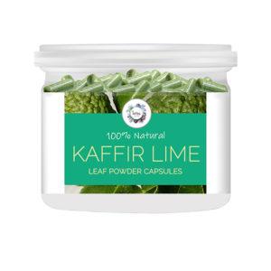Kaffir Lime (Citrus hystrix) Leaf Powder Capsules