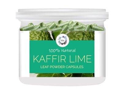 Kaffir Lime (Citrus hystrix) Leaf Powder Capsules
