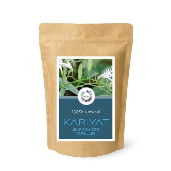 Kariyat (Andrographis paniculata) Leaf Powder Capsules