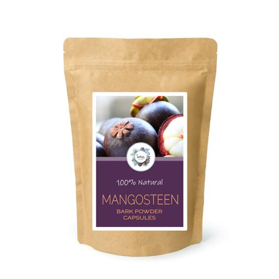 Mangosteen (Garcinia mangostana) Bark Powder Capsules