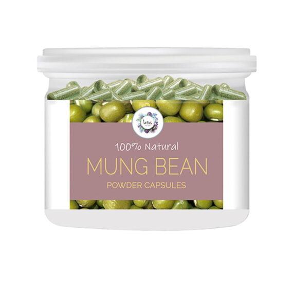Mung Bean (Vigna radiata) Powder Capsules