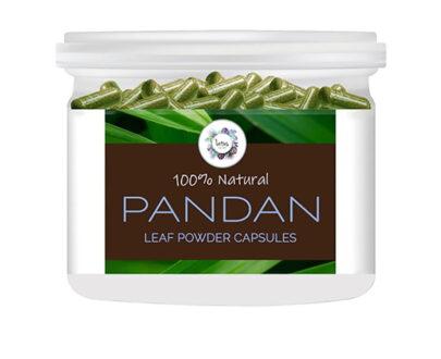 Pandan (Pandanus amaryllifolius) Leaf Powder Capsules