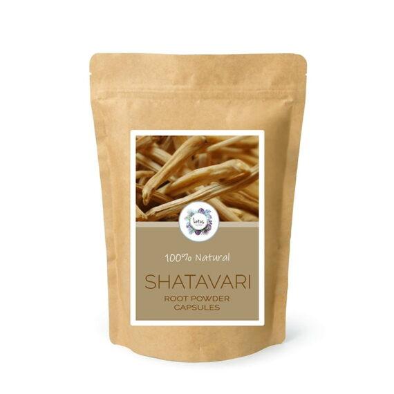 Shatavari (Asparagus racemosus) Root Powder Capsules