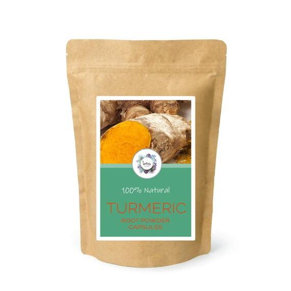 Turmeric (Curcuma longa) Root Powder Capsules